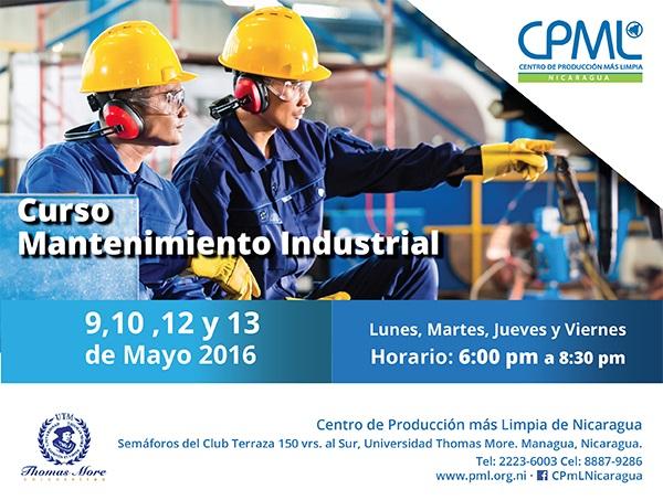 curso mantenimiento industrial