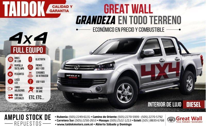 TAIDOK Motors Nicaragua
